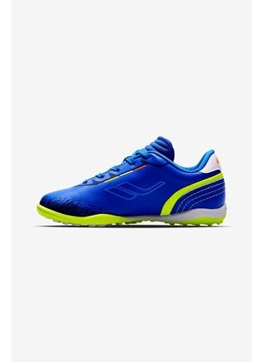 Lescon Saks Çocuk King Halı Saha Ayakkabı Mavi